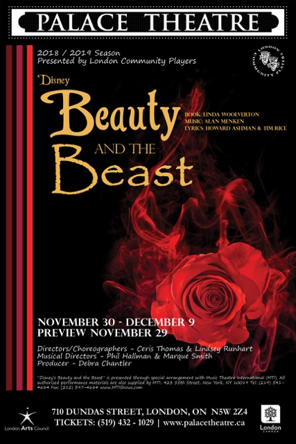 Poster for Beauty and the Beast.