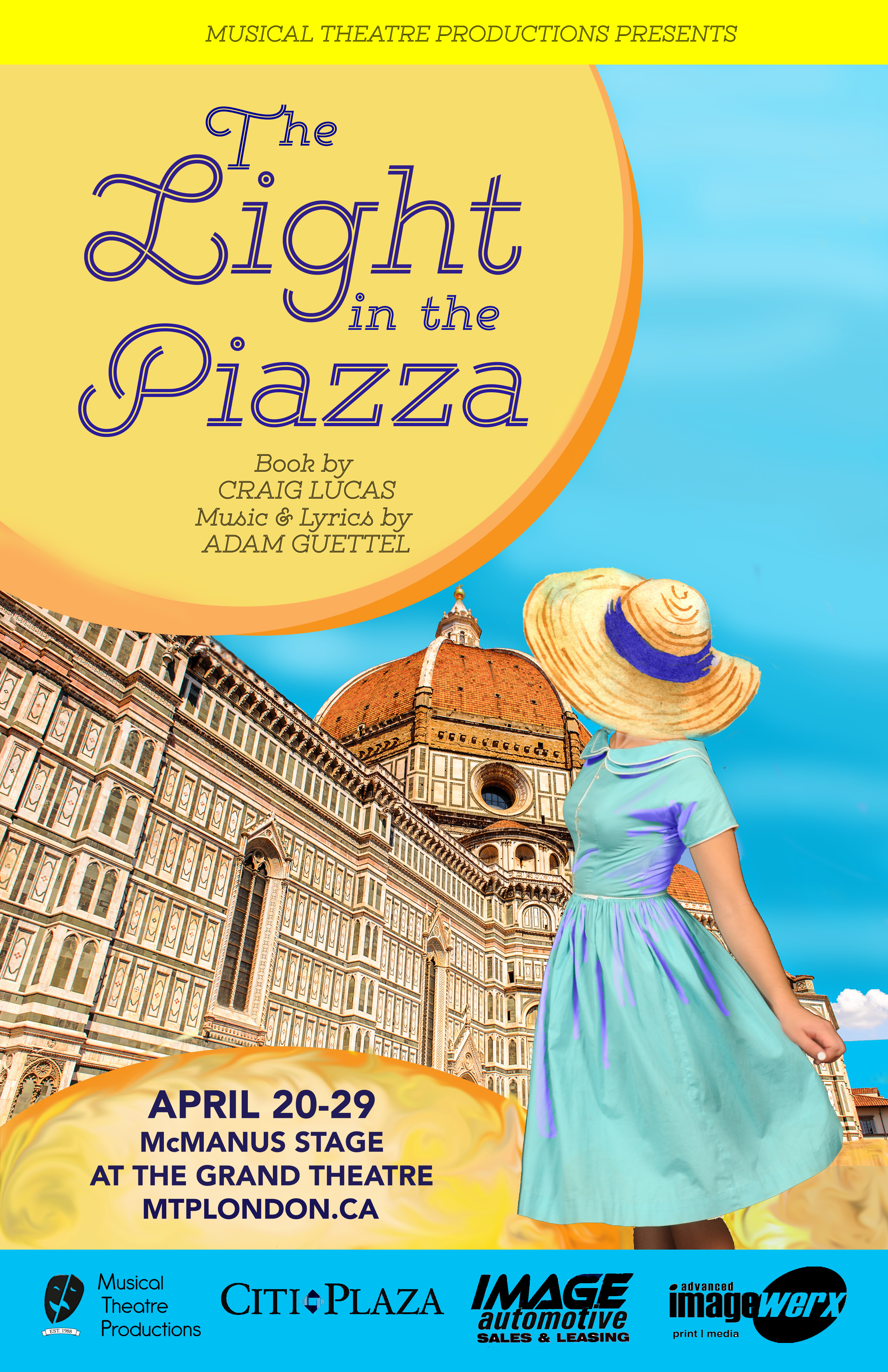 The Light in the Piazza poster.